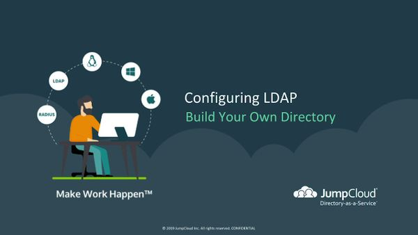 Moving to LDAP